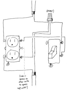 Rl 6652 Switch Wiring Diagram On Wiring Single Pole Switch With Receptacle Schematic Wiring