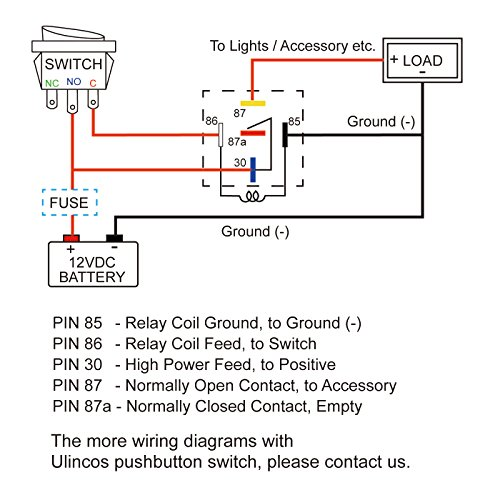 horn relay wiring diagram 85 86 87 87a 30  pietrodavicoit