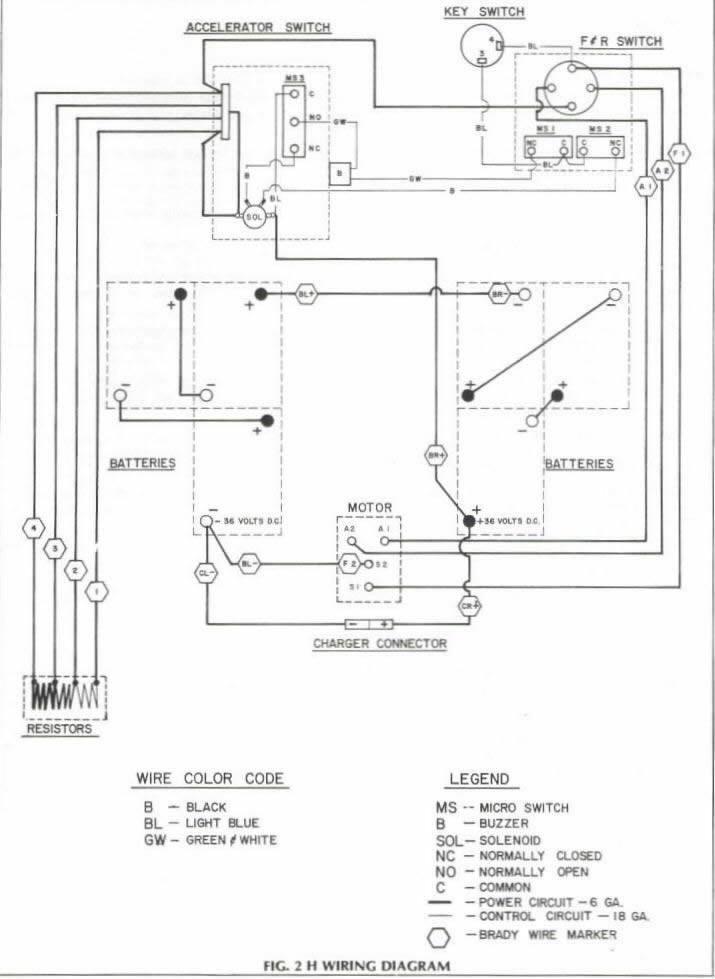 dh4945 cart wiring diagram furthermore ez go golf cart