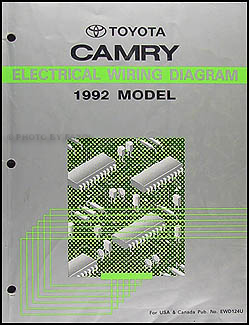 Strange 1992 Toyota Camry Wiring Diagram Manual Original Wiring Cloud Inklaidewilluminateatxorg