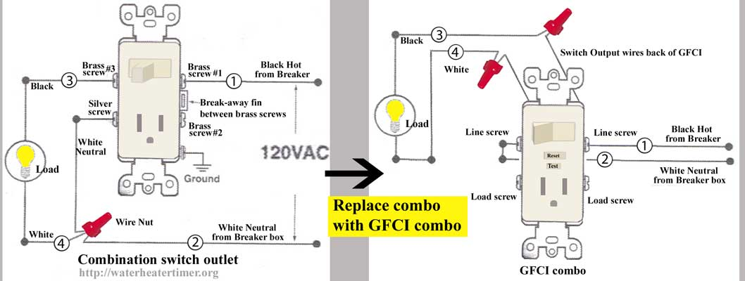 Cool 3 Way Switch Outlet Combo Basic Electronics Wiring Diagram Wiring Cloud Cranvenetmohammedshrineorg