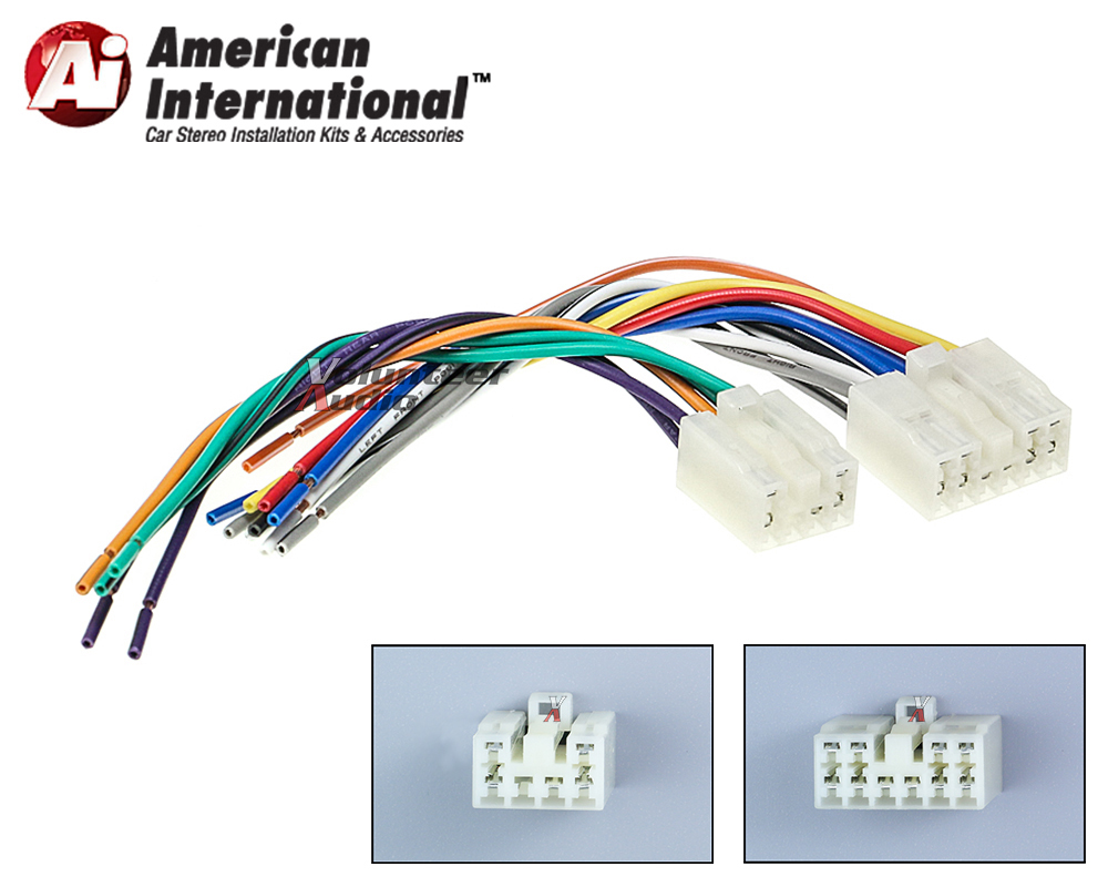 Swell Toyota Plugs Into Factory Radio Car Stereo Cd Player Wiring Harness Wiring Cloud Domeilariaidewilluminateatxorg
