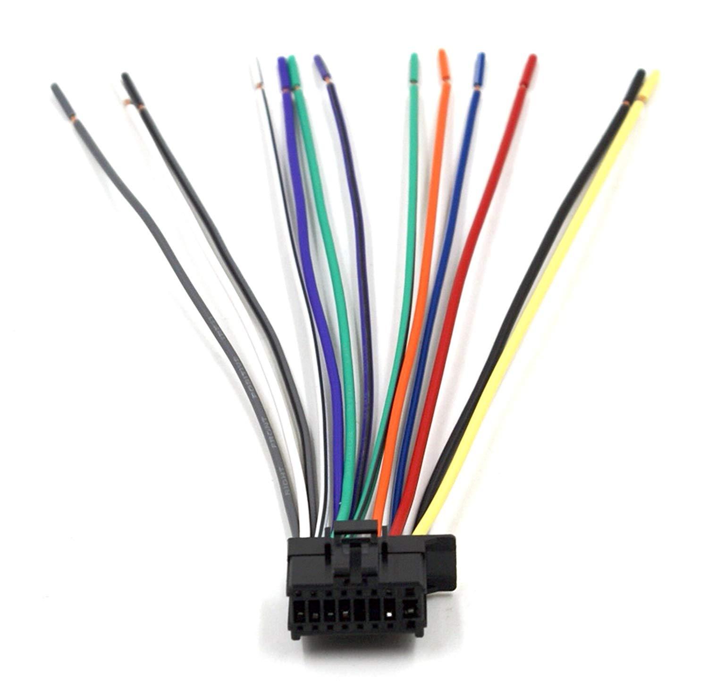 Swell Amazon Com Dnf Pioneer Wiring Harness Deh P5200Hd Deh P6200Bt Dxt Wiring Cloud Icalpermsplehendilmohammedshrineorg