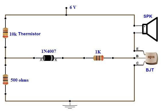 Enjoyable Simple Fire Alarm Circuit Using Thermistor Germanium Diode And Lm341 Wiring Cloud Ittabpendurdonanfuldomelitekicepsianuembamohammedshrineorg