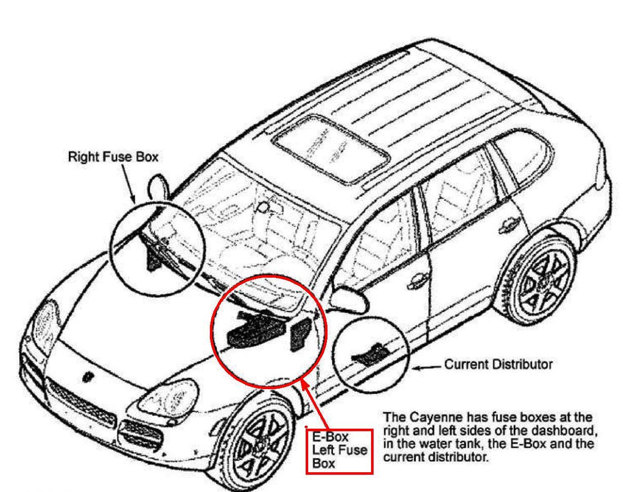 Or 3008  Porsche Fuse Box Wiring Diagram