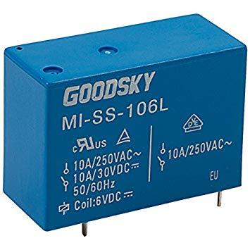 GOOD SKY RWH-SS-112D 12 V RWH Series 12 A SPDT Relay