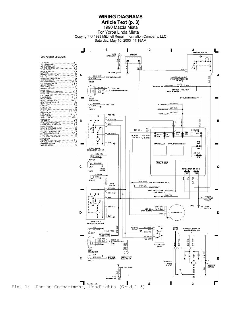 fc rx7 fuse box diagram br 1897  fuse box diagram mazda miata headlight relay location  fuse box diagram mazda miata headlight
