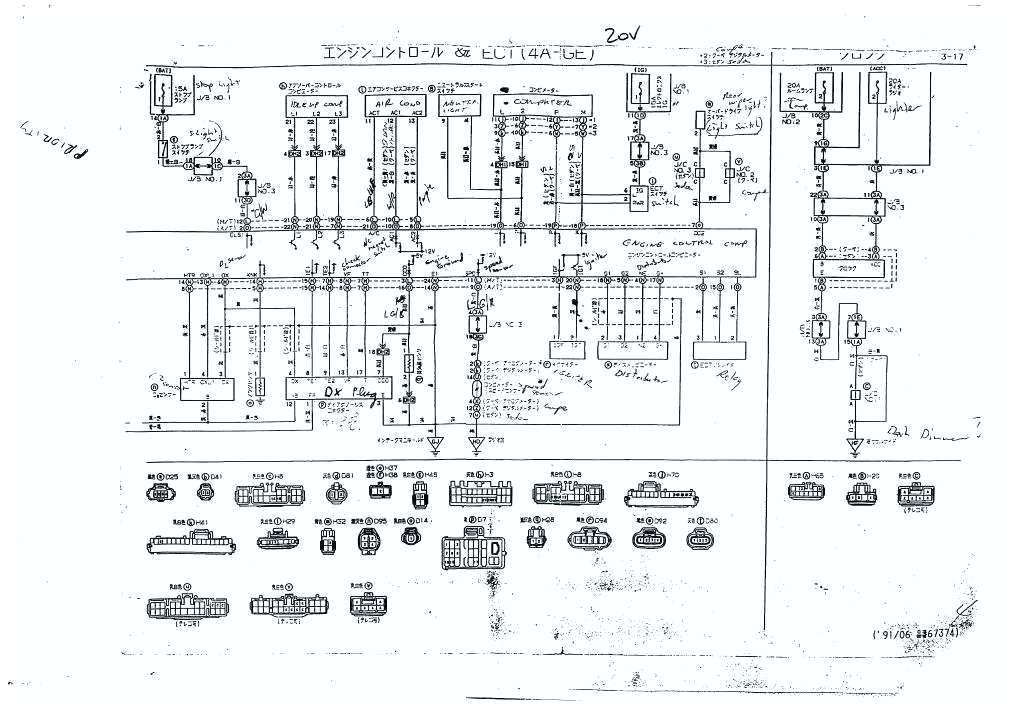 1991 Mr2 Wiring Diagram - Wiring Diagram