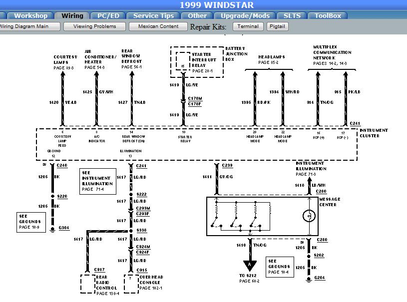 dodge dakota overhead console wiring diagram vr 6603  2000 ford expedition overhead console wiring diagram  overhead console wiring diagram