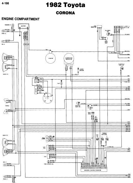 1982 toyota tercel alternator wiring diagram  subaru wiring