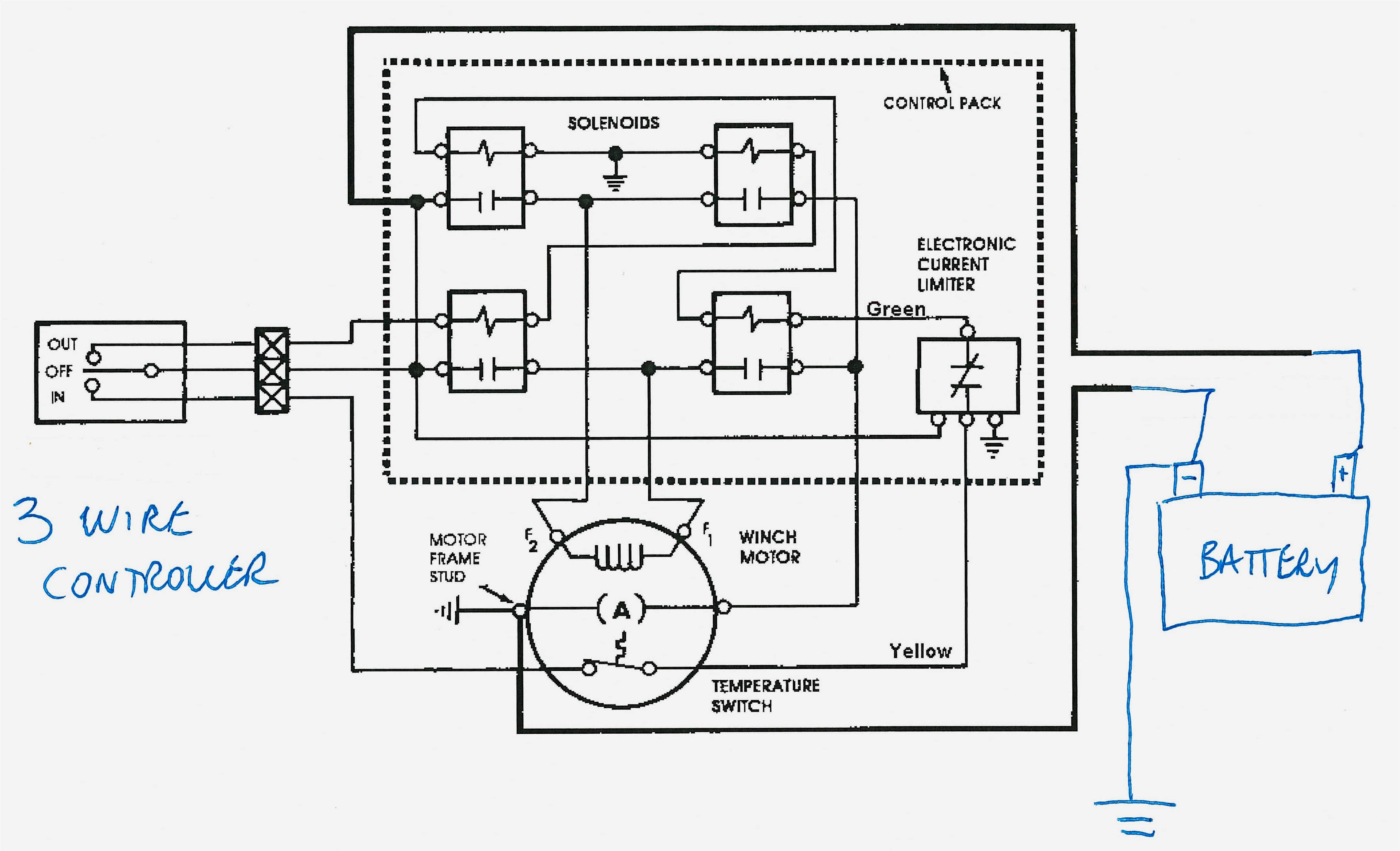 Square D Hoist Contactor Wiring Diagram