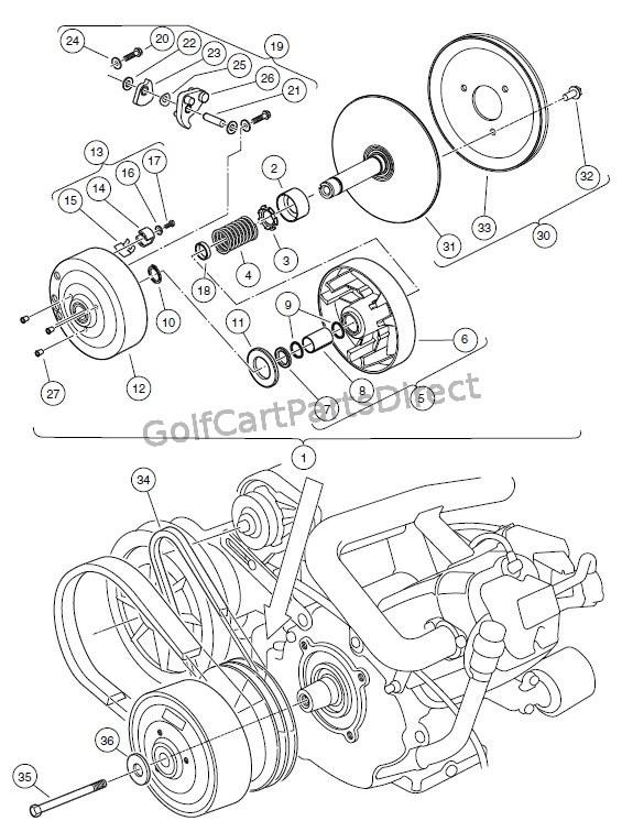 2000 Gas Club Car Wiring Diagram