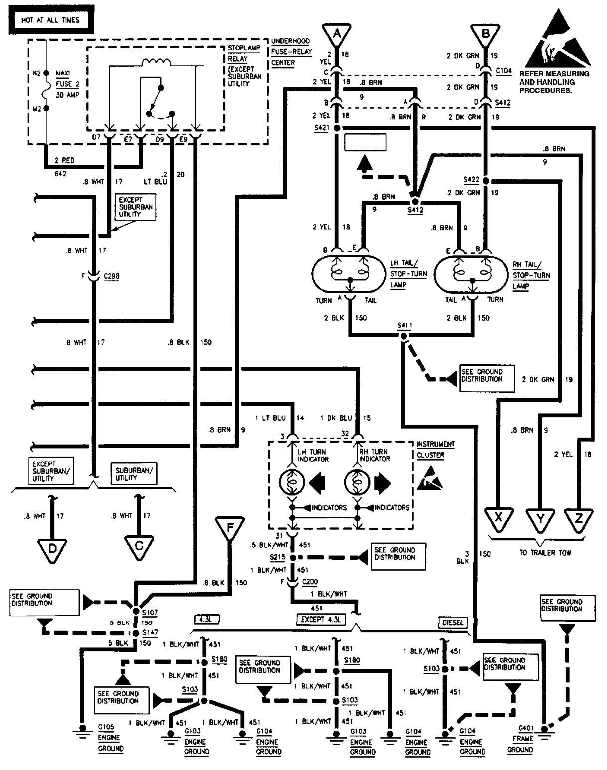 YC_8099] Chevy 1500 Wiring Diagram Wiring Diagram For 1997 Chevy Silverado  Free DiagramBemua Kapemie Mohammedshrine Librar Wiring 101