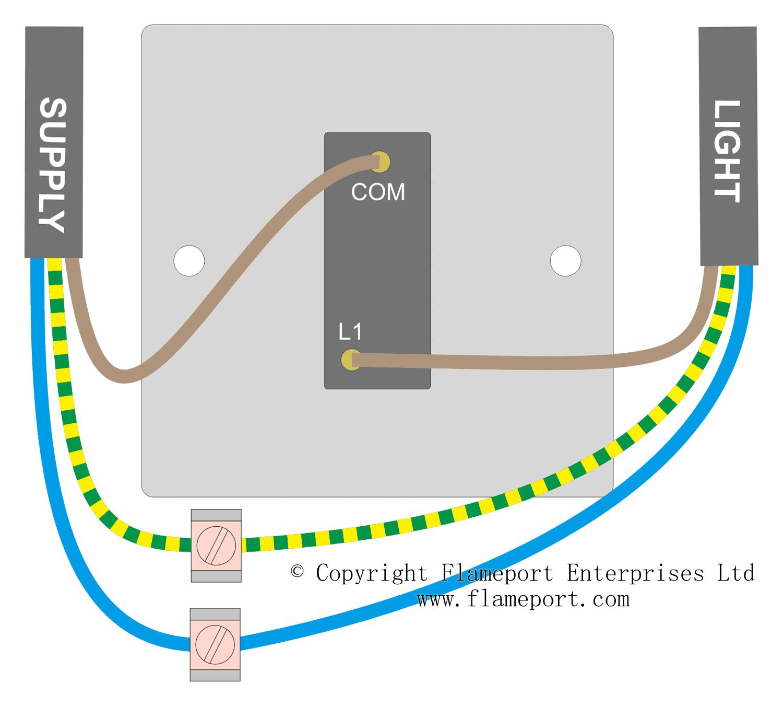 Miraculous Wiring A Single Switch Basic Electronics Wiring Diagram Wiring Cloud Timewinrebemohammedshrineorg