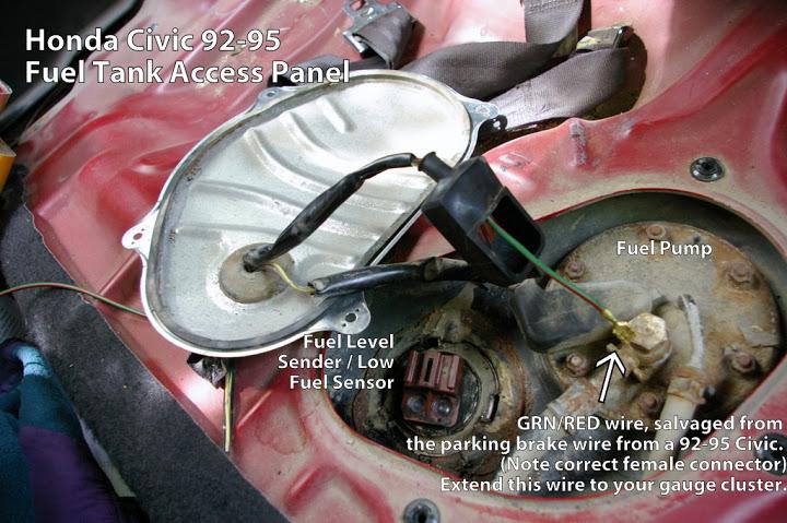 Fg 5407 1992 Honda Civic Fuel Pump Schematic Wiring