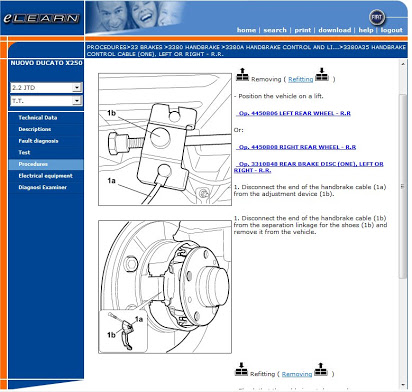 Fiat Ducato X250 Manual Service Repair Workshop manual parts data