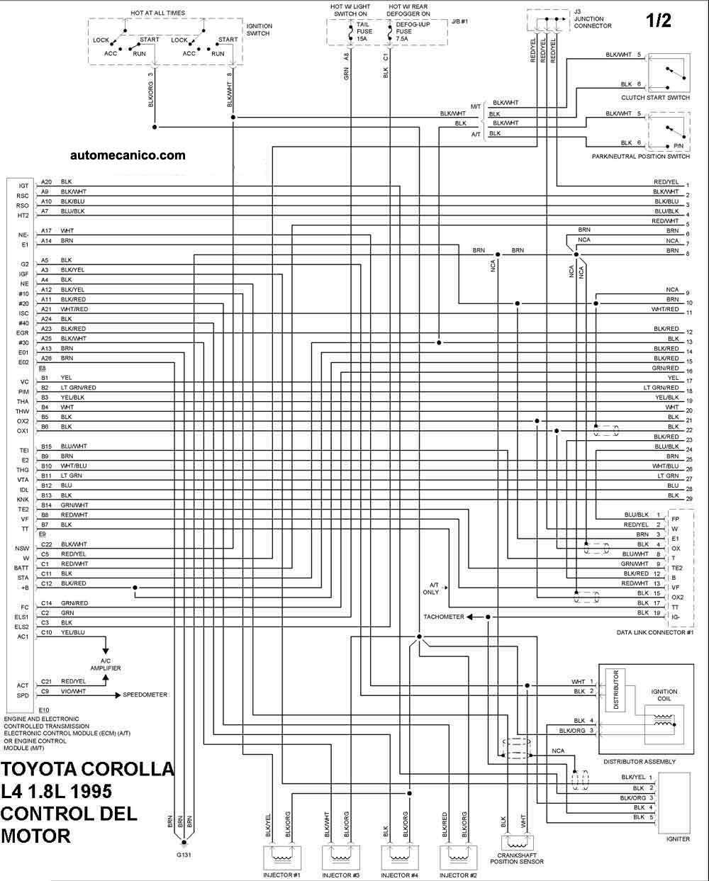 toyota 1 8l engine diagram tm 7210  diy 1999 toyota corolla ve 1zzfe engine alternator  diy 1999 toyota corolla ve 1zzfe engine
