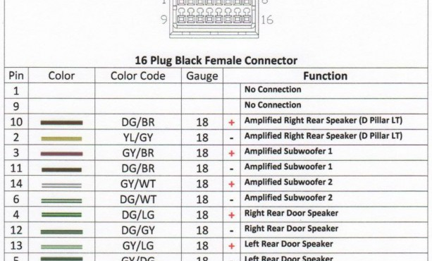 2010 Dodge Nitro Radio Wiring Diagram