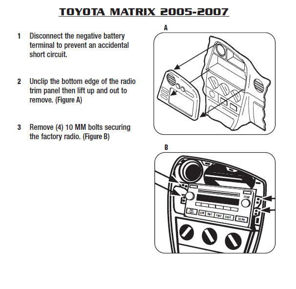 Astounding 2007 Toyota Matrix Radio Wiring Diagrams Online Wiring Diagram Wiring Cloud Timewinrebemohammedshrineorg
