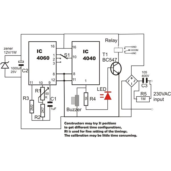 Fantastic How To Build A Long Duration Timer One Sample Circuit Explained Wiring Cloud Licukshollocom