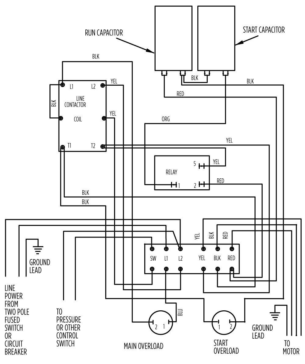 Franklin Well Pump Control Box Wiring Diagram