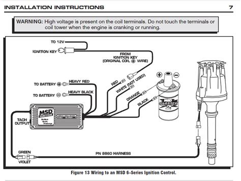 msd wiring diagram honda  diagram wiring for wiring diagram