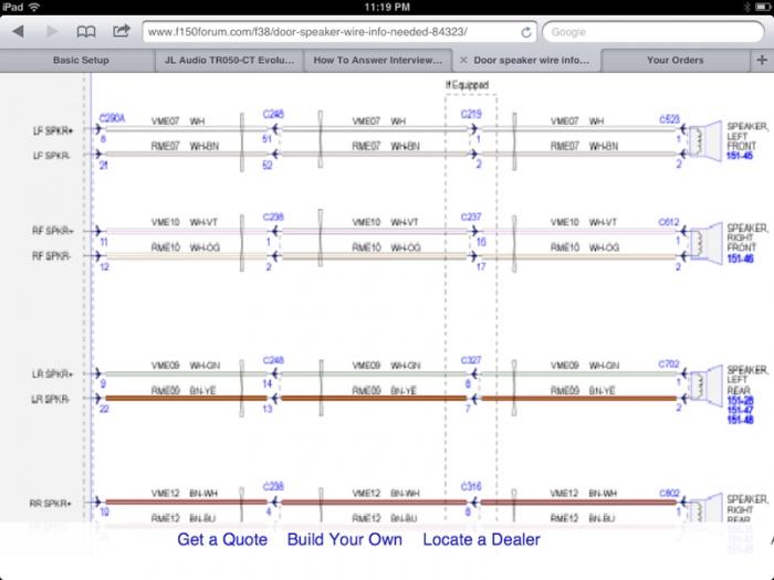 Awe Inspiring Ford F150 Speaker Wiring Diagram Online Wiring Diagram Wiring Cloud Uslyletkolfr09Org