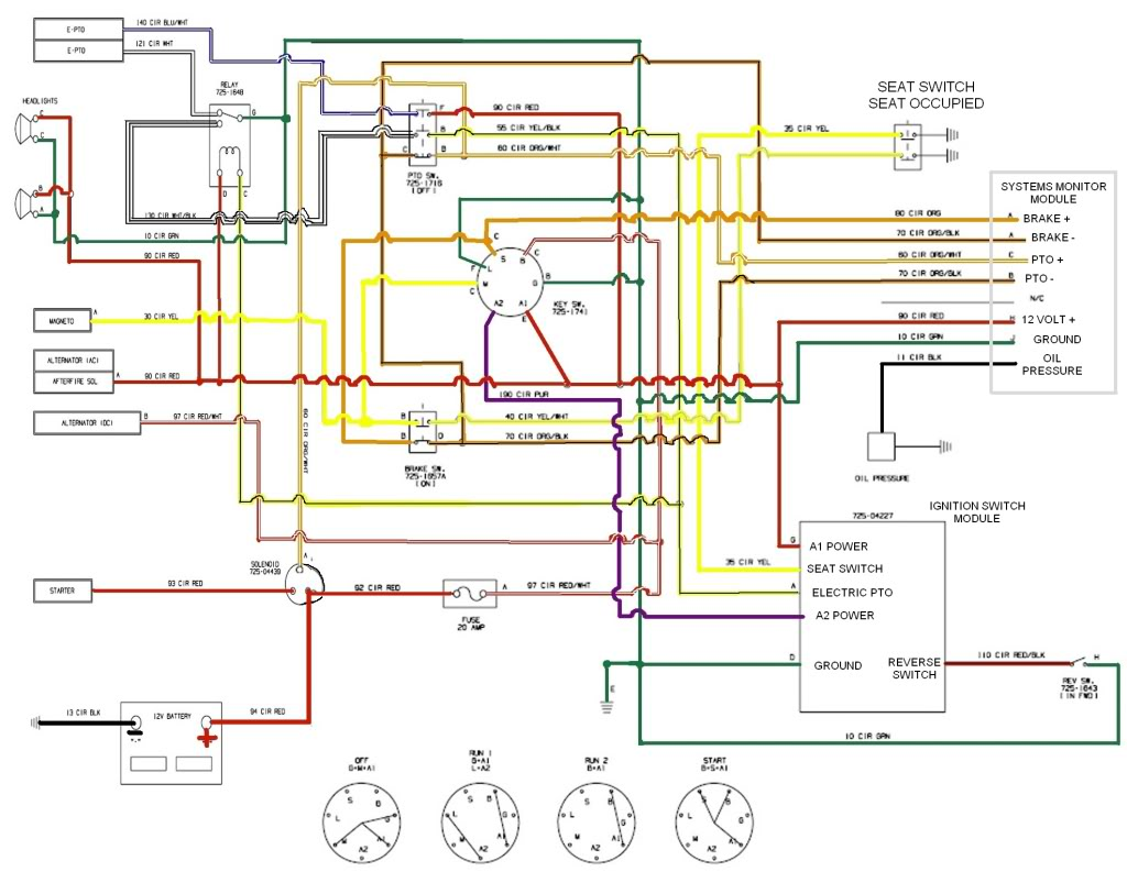 Yt 4155 Mower Ignition Switch Wiring Diagram On 25 Hp Kohler Engine Diagram Free Diagram