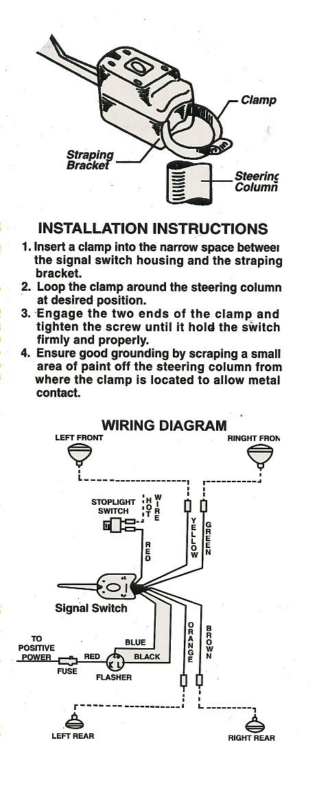 [TBQL_4184]  NX_4979] Universal Directional Turn Signal Switch 7 Wire Vintage Schematic  Wiring | Hot Rod Turn Signal Wiring Diagram |  | Pendu Mous Siry Inrebe Hyedi Mohammedshrine Librar Wiring 101
