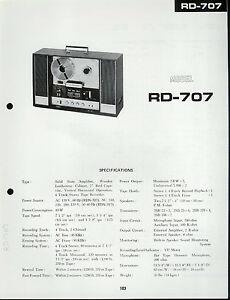 Pleasant Original Sharp Rd 707 Reel To Reel Tape Deck Schematic Diagram Pc Wiring Cloud Xempagosophoxytasticioscodnessplanboapumohammedshrineorg