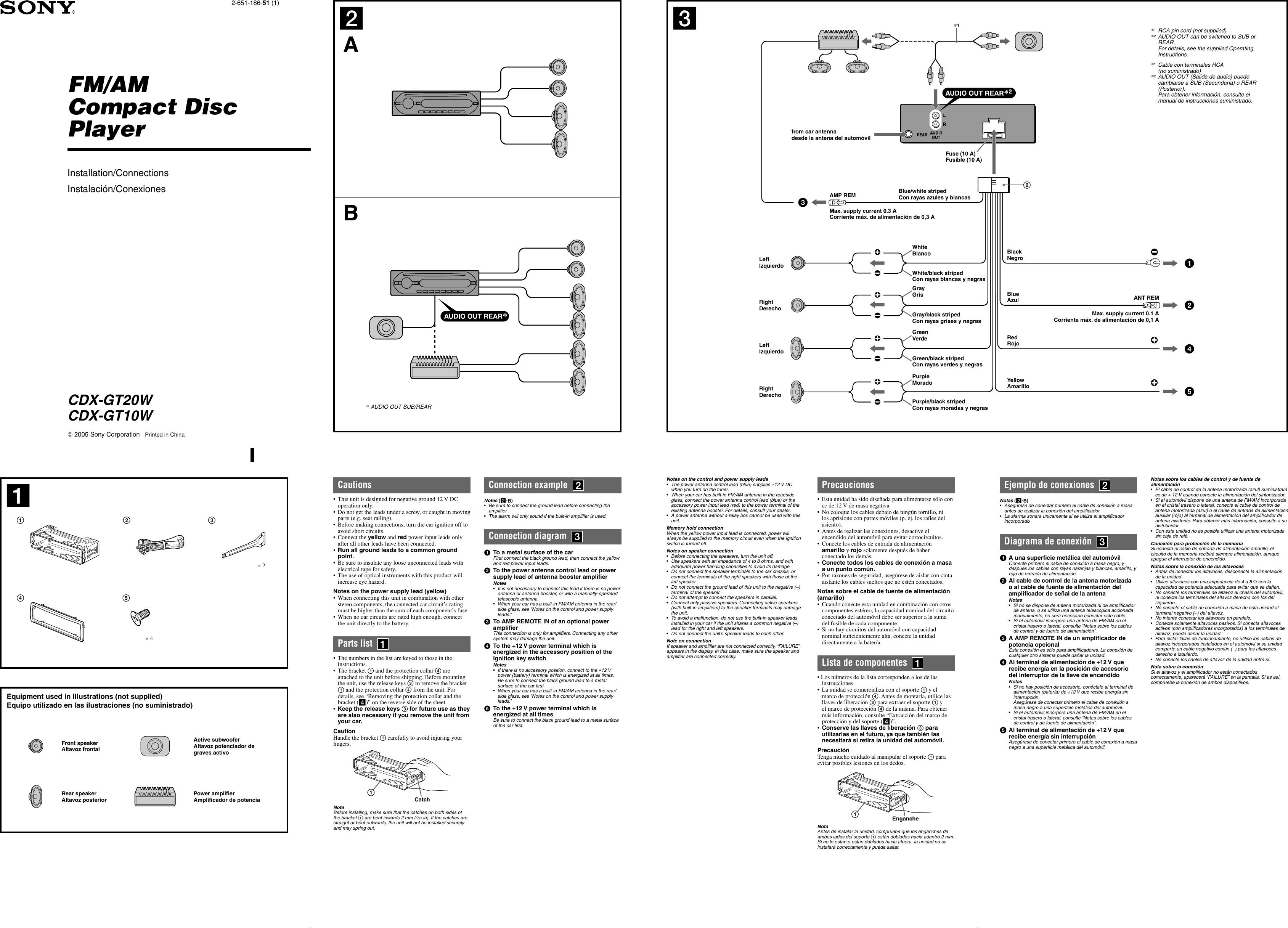 Sony Wiring Diagram