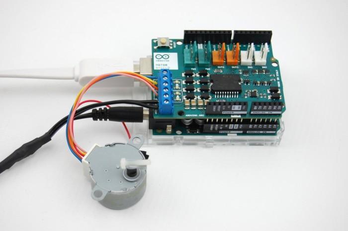 Terrific Arduino Stepper Motor Control Wiring Cloud Rineaidewilluminateatxorg