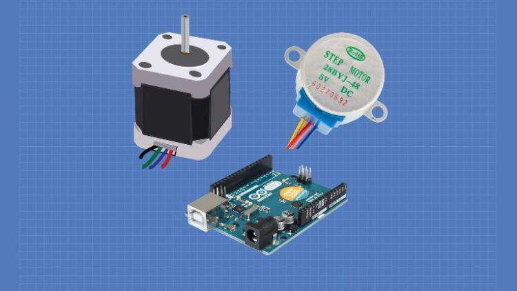 Fine Stepper Motors With Arduino Dronebot Workshop Wiring Cloud Faunaidewilluminateatxorg