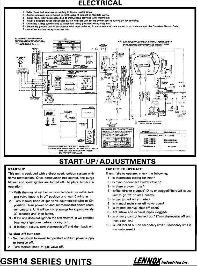 xt8319 lennox g12 wiring diagram furnace download diagram