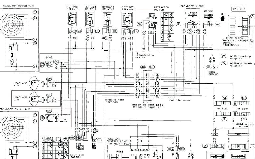 Nissan Bluebird U12 Wiring Diagram