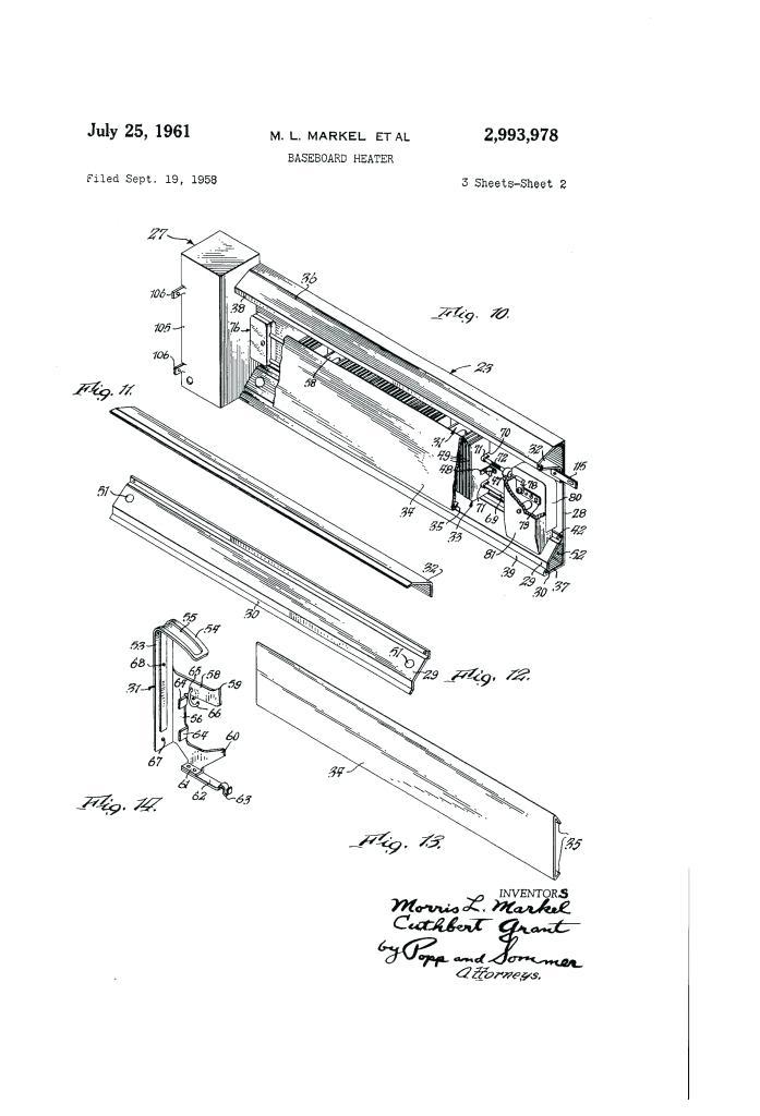 Wiring Diagram Cadet Baseboard Heater