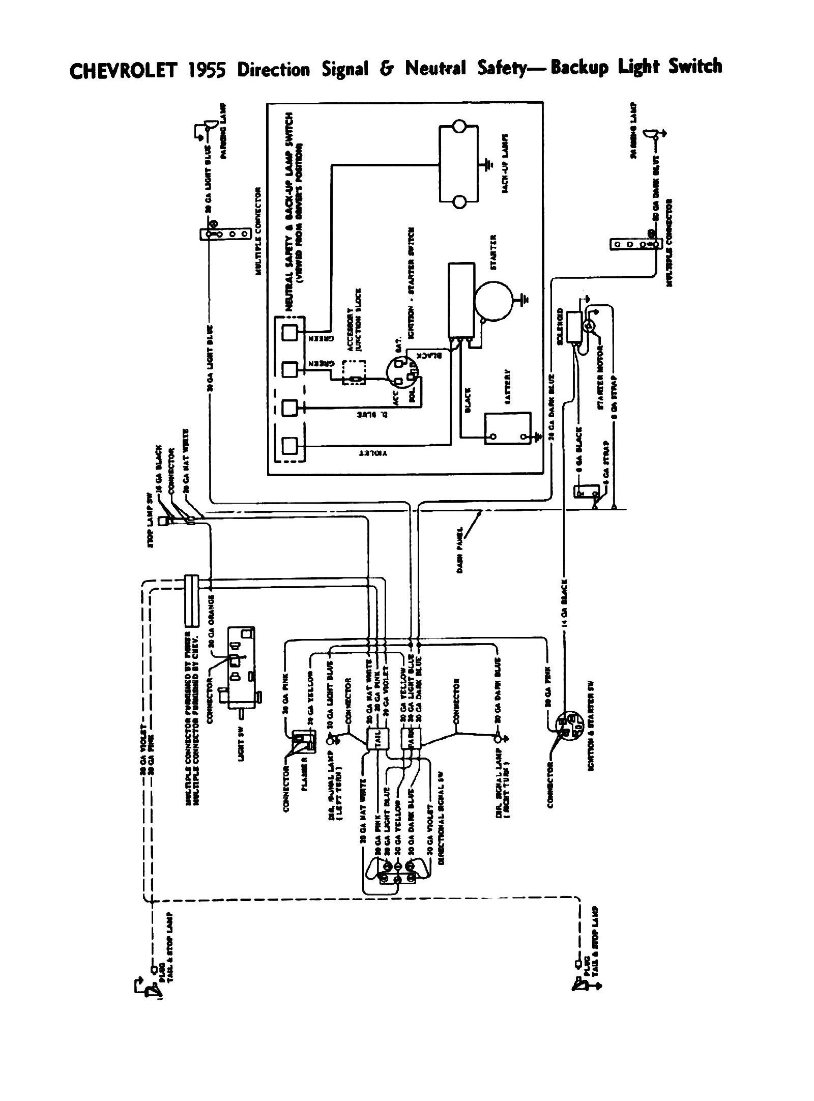 1957 Chevy Truck Wiring Diagram