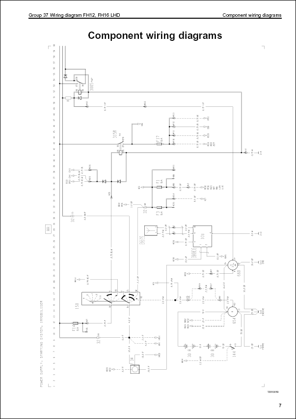 wt3237 wiring diagrams schematics additionally volvo truck