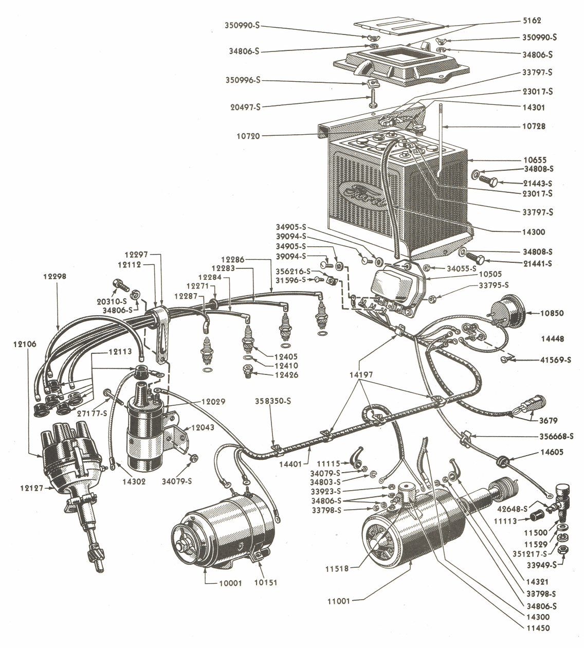 fs_6401] ford tractor wiring diagram on 601 ford wiring harness ...  ilari viewor mohammedshrine librar wiring 101