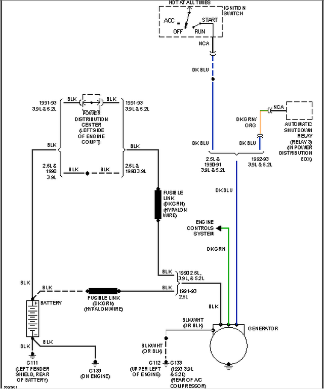 dodge alternator wiring nk 4435  dodge dakota alternator wiring diagram also 1991 dodge dodge cummins alternator wiring diagram dodge dakota alternator wiring diagram
