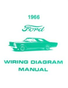 Incredible Ford 1966 Custom Galaxie And Ltd Wiring Diagram Manual Ebay Wiring Cloud Domeilariaidewilluminateatxorg