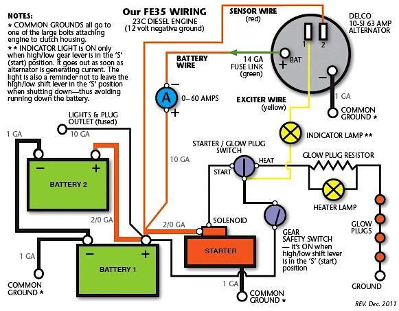 XX_7809] Massey Tractor Alternator Wiring Diagram