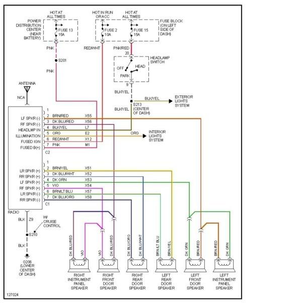 1995 Kia Sephia Radio Wiring Diagram