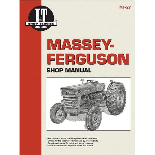 Enjoyable Massey Ferguson Shop Manual Models Mf135 Mf150 Mf165 I T Shop Wiring Cloud Loplapiotaidewilluminateatxorg