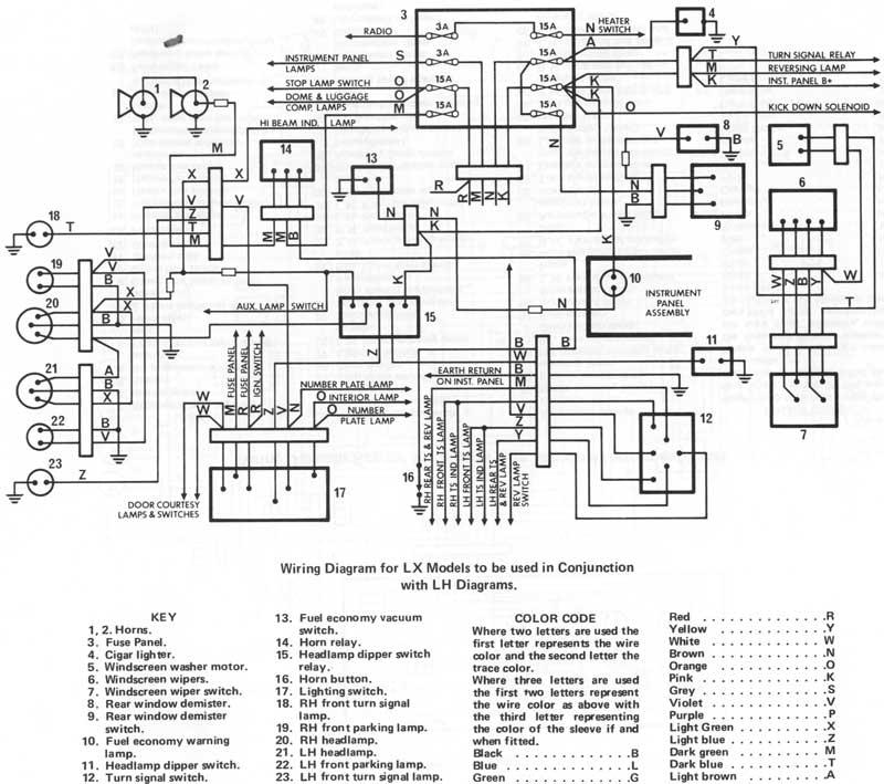 Lh Torana Engine Wiring Diagram - Wiring Diagram