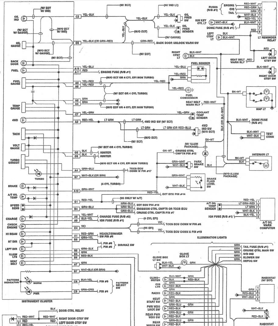 1985 Toyota Pickup Wiring Diagram