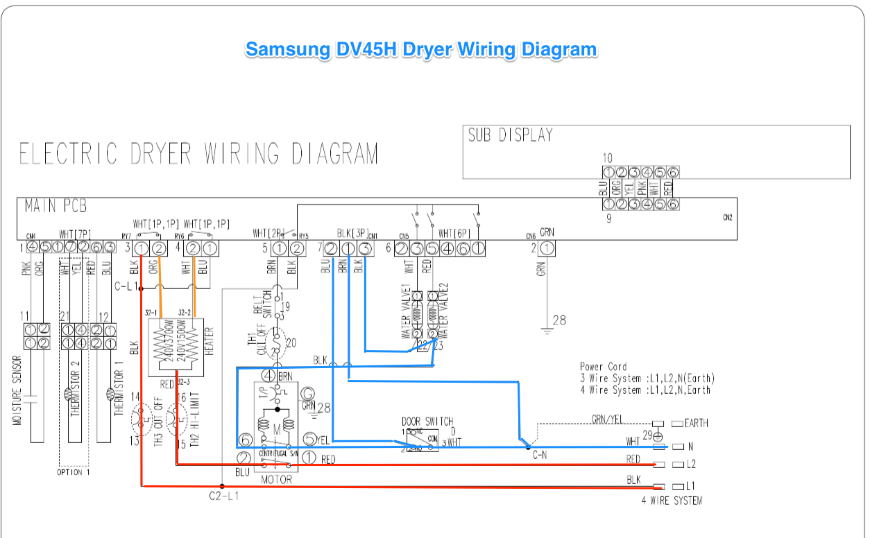 Astonishing Whirlpool Dryer Schematic Basic Electronics Wiring Diagram Wiring Cloud Overrenstrafr09Org