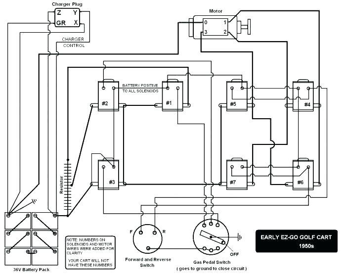 Ez Go 36v Battery Wiring Diagram - Wiring Diagram