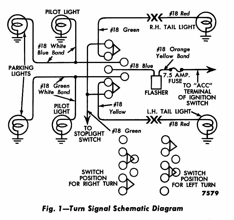 Magnificent Color Coded Wiring Diagram For 1956 Turn Signals Ford Truck Wiring Cloud Histehirlexornumapkesianilluminateatxorg