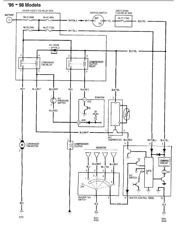 HF_4236] Ac Wiring Diagram Hondatech Schematic WiringPead Opein Pneu Rimen Gram Amenti Inoma Nful Mohammedshrine Librar Wiring  101